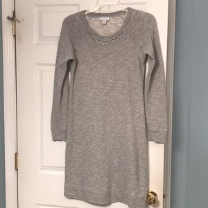 Kenar French Terry Dress with bling